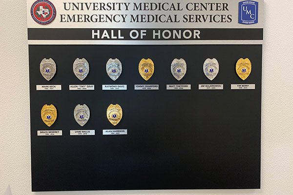 EMS Hall of Honor